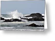Crashing Wave Greeting Card by Scott Gould