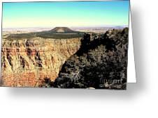 Crater At Grand Canyon Greeting Card