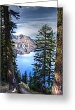 Crater Lake 1 Greeting Card