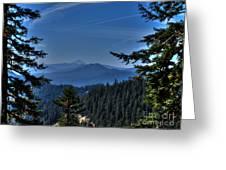 Crater Lake 3 Greeting Card