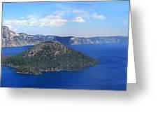 Crater Lake Greeting Card by Melisa Meyers