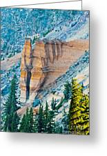 Crater Lake Pumice Castle Greeting Card