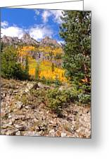 Crater Lake Trail Greeting Card