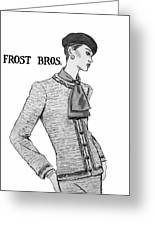 Cravat Greeting Card