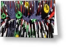 Crayon Explosion Greeting Card