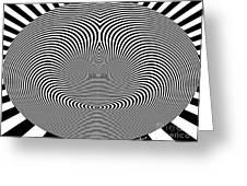 Crazy Circles Greeting Card