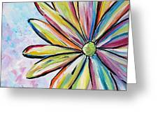 Crazy Daisy Greeting Card