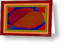 Creaking Egg Greeting Card by Meenal C