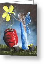 Creating Tomorrow Fairy By Shawna Erback Greeting Card