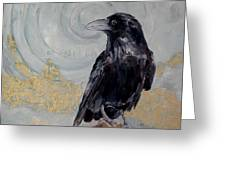 Creation - A Raven Greeting Card