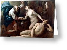 Creation Of Eve Greeting Card