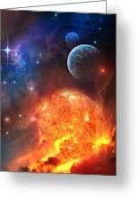 Creation Greeting Card by Philip Straub