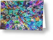 Creative Colors #3 Greeting Card