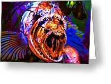 Creatures Of The Deep - Fear No Fish 5d24799 Square Greeting Card