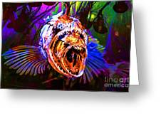Creatures Of The Deep - Fear No Fish 5d24799 V2 Greeting Card