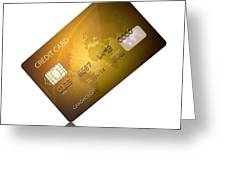 Credit Card Greeting Card