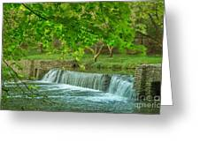 creek at Valley Forge Greeting Card