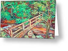 Creek Bridge Greeting Card