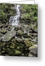 Creek Falls Greeting Card