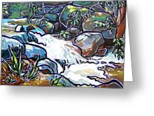 Creek Greeting Card