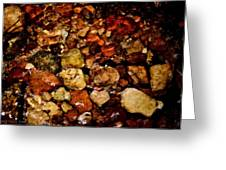 Creek Rocks Greeting Card