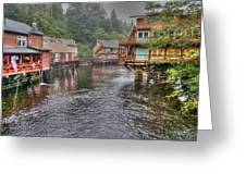 Creek Street - Ketchikan - Alaska Greeting Card