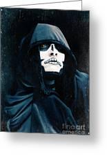 Creepy Skeleton Greeting Card