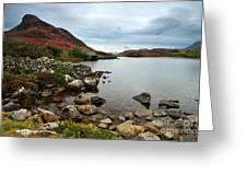 Cregennan Lakes Greeting Card