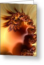 Creme Brulee  Greeting Card by Heidi Smith