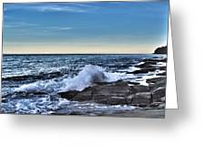 Crescent Bay #1 Greeting Card