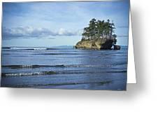 Crescent Bay #2 Greeting Card