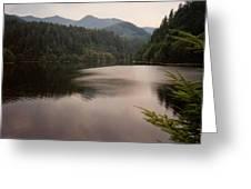 Crescent Lake Greeting Card