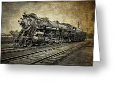 Crescent Limited Locomotive Of 1927 Greeting Card