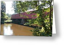 Cresson Bridge Greeting Card