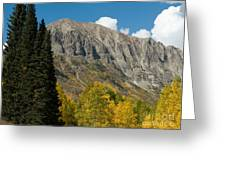 Crested Butte Colorado Greeting Card
