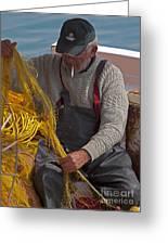 Crete Fisherman   #9348 Greeting Card