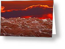 Crete Highlands Greeting Card