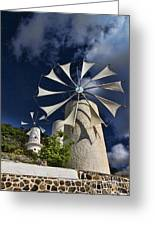 Creton Windmills Greeting Card