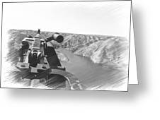 Crew View  Greeting Card
