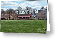 Cricket Field Haverford College Greeting Card by Kay Pickens