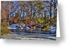 Crim Dell In Winter William And Mary Greeting Card