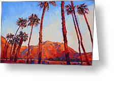 Crimson Borrego Greeting Card by Erin Hanson