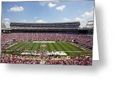 Crimson Tide A-day Football Game At University Of Alabama  Greeting Card by Carol M Highsmith