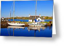 Crinan Canal Greeting Card by Craig B