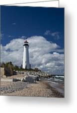 Crisp Point Lighthouse 15 Greeting Card