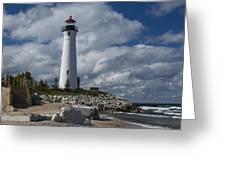 Crisp Point Lighthouse 16 Greeting Card