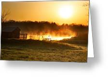 Crisp Spring Morning Greeting Card
