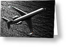 Crj700 - Bombardier Greeting Card