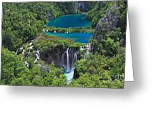 Croatia Landscape Greeting Card by Boon Mee