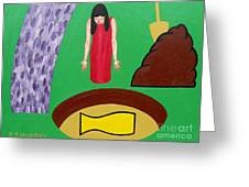 Crock Of Gold Greeting Card